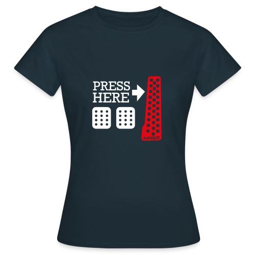Press Here - T-shirt Femme