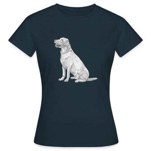 labrador Retriever Gul - Dame-T-shirt