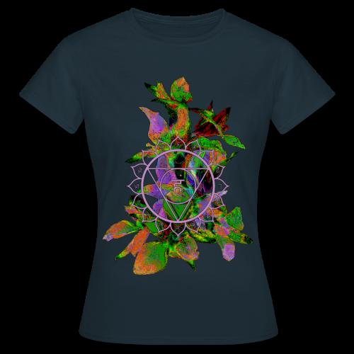 mandala and flowers2 - Women's T-Shirt