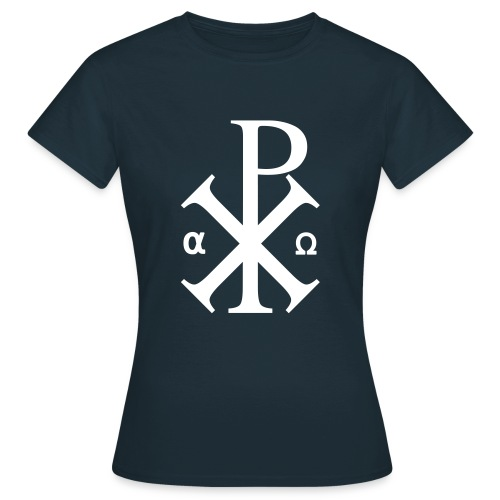 Alpha et Oméga - Jésus Christ - T-shirt Femme