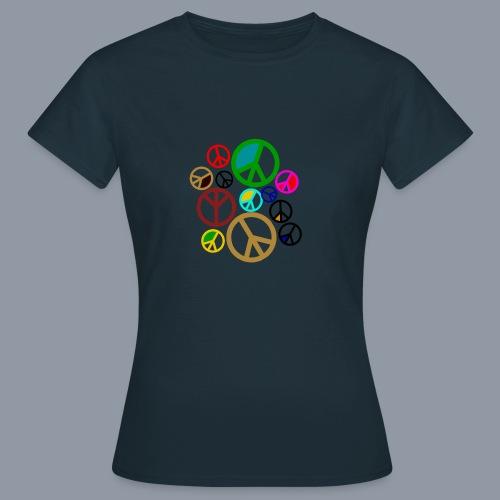 Peace, Peace, Peace - Frauen T-Shirt