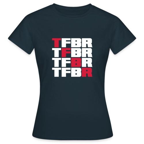 4x TFBR - Frauen T-Shirt