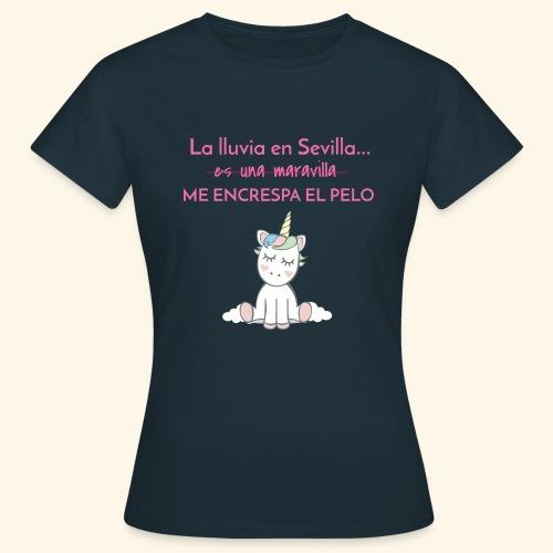 La lluvia en Sevilla - Camiseta mujer