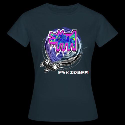 p4kid3rm colored logo - Maglietta da donna