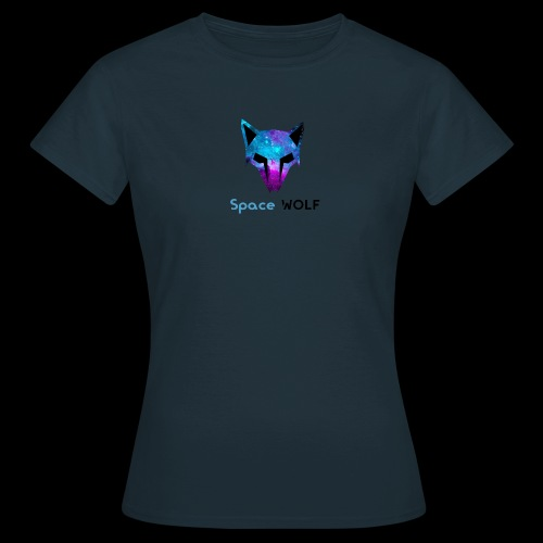 space wolf galaxy - Camiseta mujer