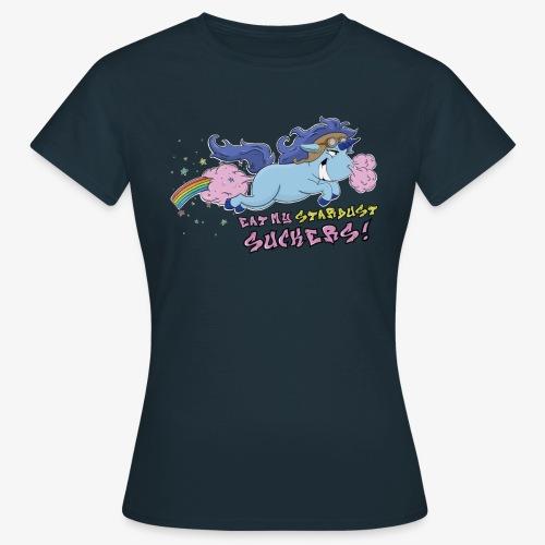 Stardust Unicorn pink - Dame-T-shirt