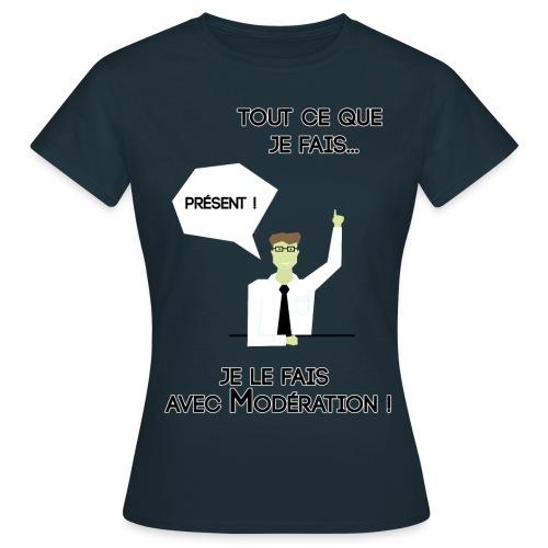 AvecModération png - T-shirt Femme