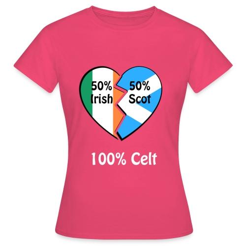 half-irish-half-scot-full - Women's T-Shirt