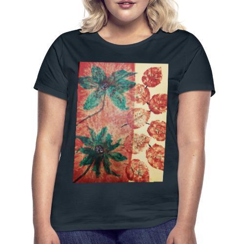 Herbstblumen - Frauen T-Shirt