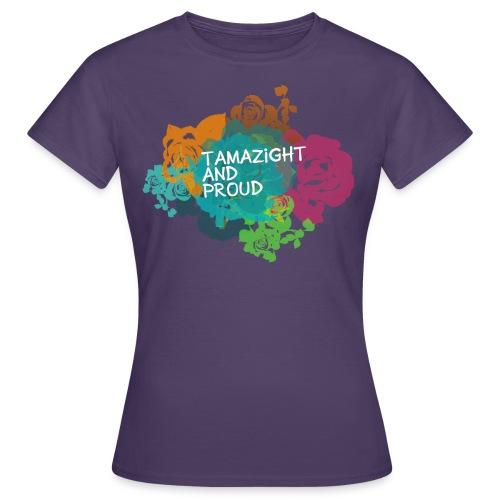 tamazight and proud - T-shirt Femme