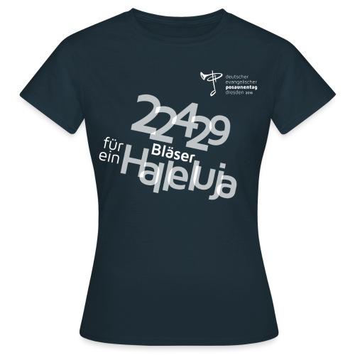 22429 Bläser Halleluja - Frauen T-Shirt