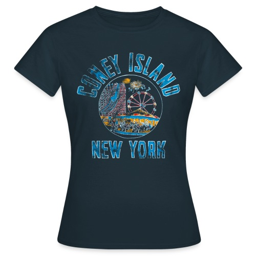 Coney Island NYC - T-shirt Femme