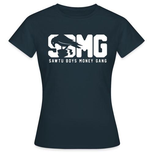nieuwemaatsbmg text wit 01 png - Vrouwen T-shirt