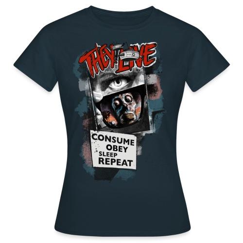 THEY LIVE - Frauen T-Shirt