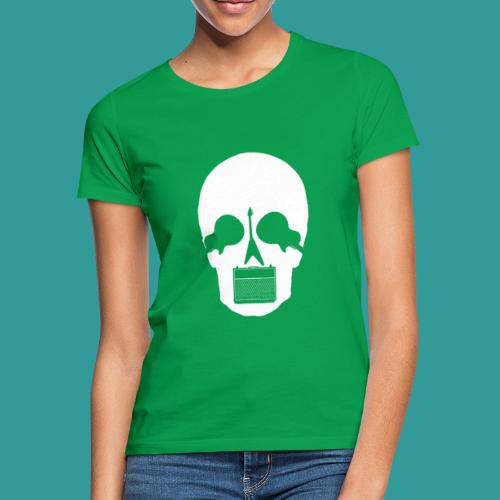 Guitar Skull - Women's T-Shirt