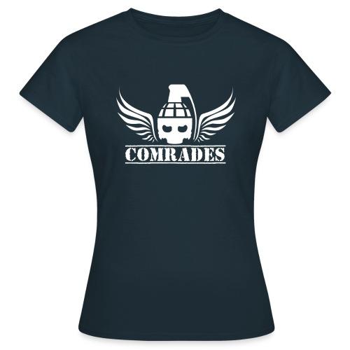 comrade LOGO white - T-shirt Femme