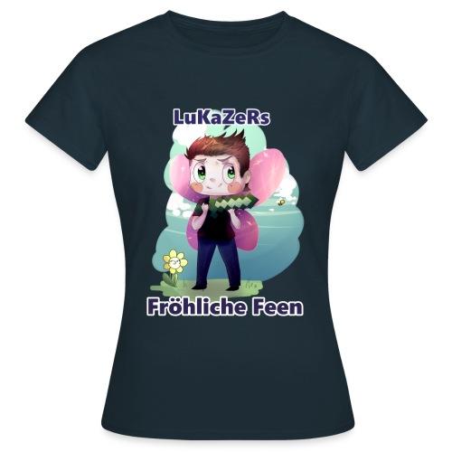 Lukazers Fröhliche Feen - Frauen T-Shirt