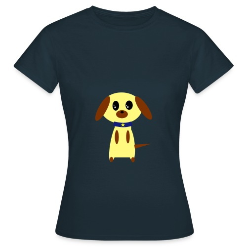 Dog Cute - Frauen T-Shirt