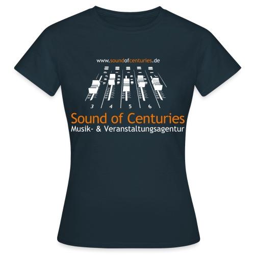 Logo SoC weiss png - Frauen T-Shirt