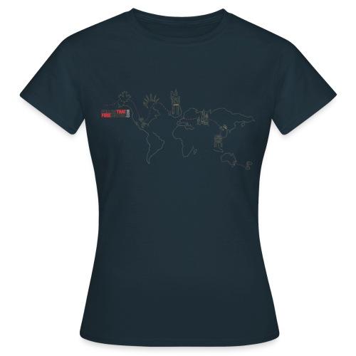 route - Women's T-Shirt
