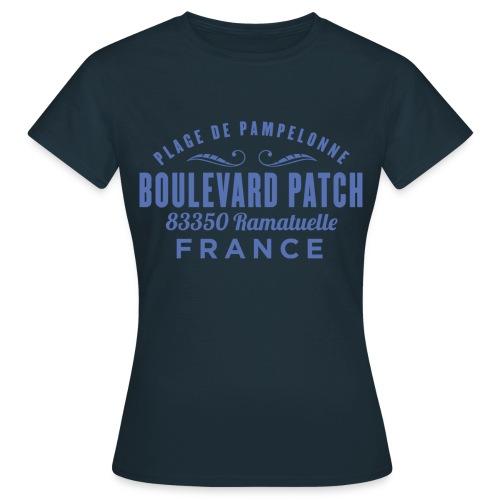 Plage De Pampelonne - Boulevard Patch - Ramatuelle - Vrouwen T-shirt
