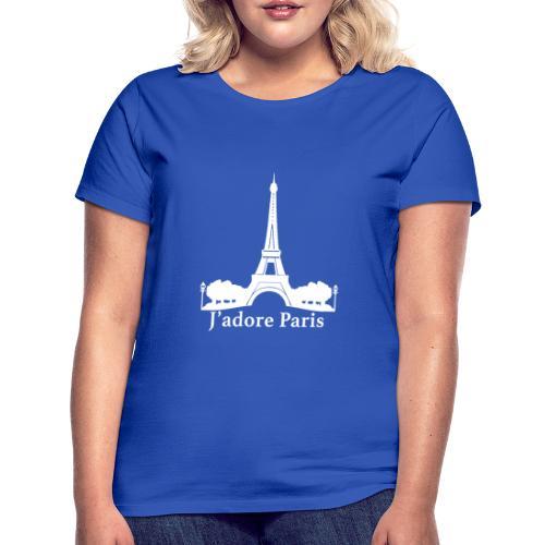 Design j'adore paris ma ville - T-shirt Femme