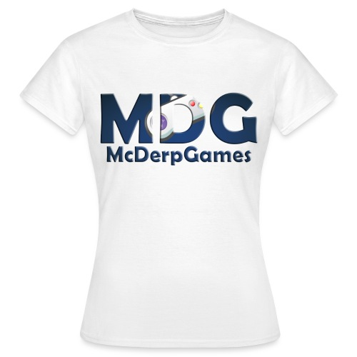 MDG McDerpGames - Vrouwen T-shirt