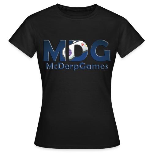 MDG McDerpGames - Vrouwen T-shirt