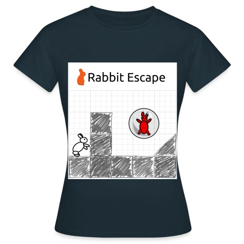 Rabbit Escape Basher - Women's T-Shirt
