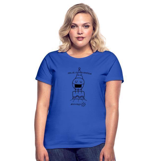 Camiseta para cumplir años en la cuarentena #covid