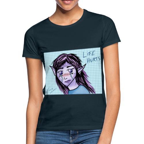 Ledsen alv - T-shirt dam