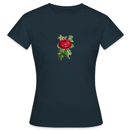 Fin ros - T-shirt dam
