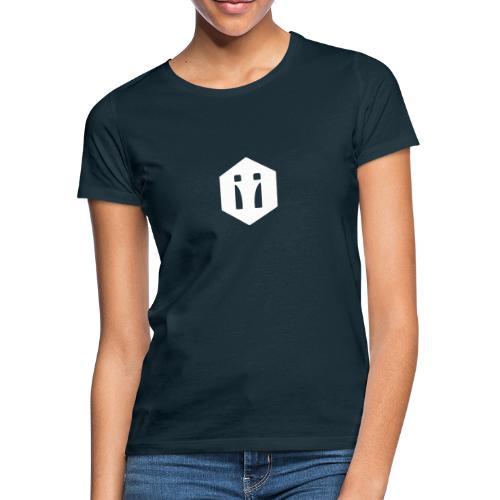 Logo Spiegelbild transparent - Frauen T-Shirt
