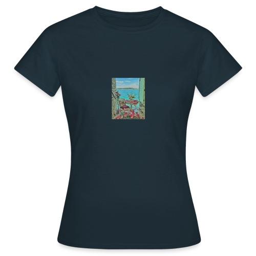 Romantic look - mit diesem Outfit gelingt alles! - Frauen T-Shirt