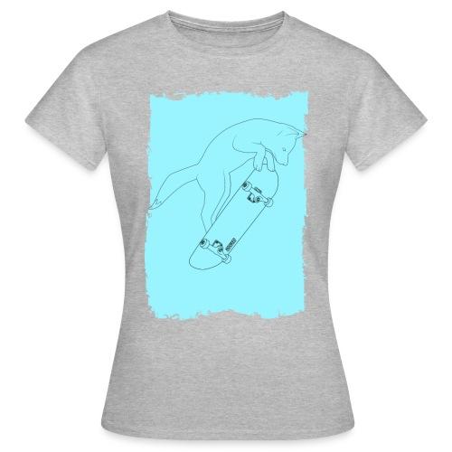 Fox_blue - Women's T-Shirt