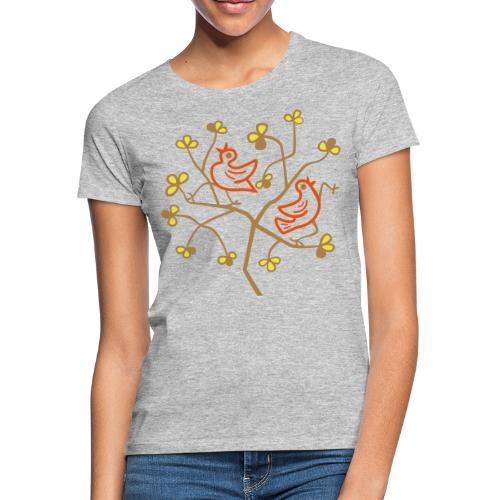 Uccelli sul ramo - Maglietta da donna