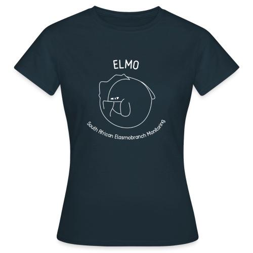 elmo logo large white - Women's T-Shirt