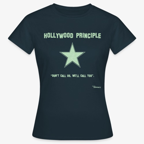 hollywood principle verde gif - Women's T-Shirt