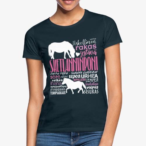 Sheltti Sanat Pink - Naisten t-paita