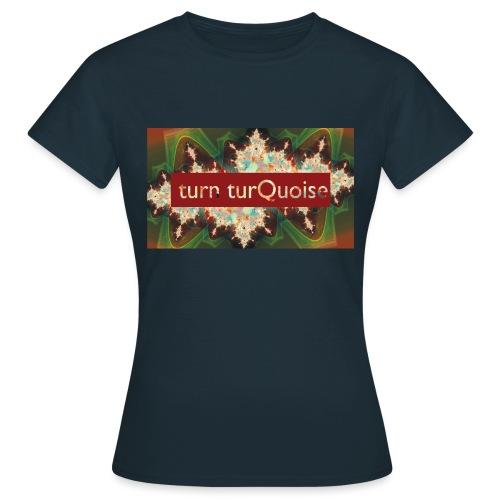 turn turQuoise Logo 2 - Frauen T-Shirt