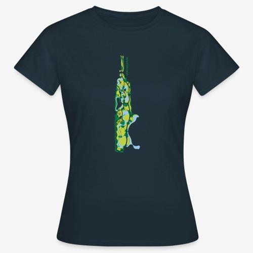 Vondelpark Amsterdam kaart verticaal - Vrouwen T-shirt