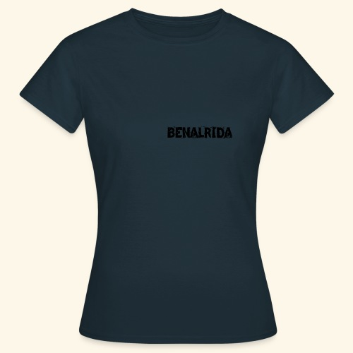 BenalRida HD black png - Camiseta mujer