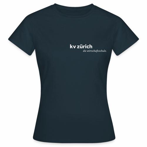 KVZ Logo Weiss - Frauen T-Shirt