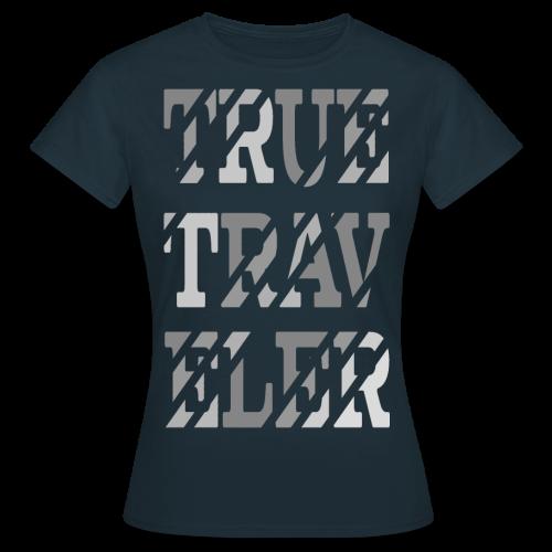True Traveler Grey design - Naisten t-paita