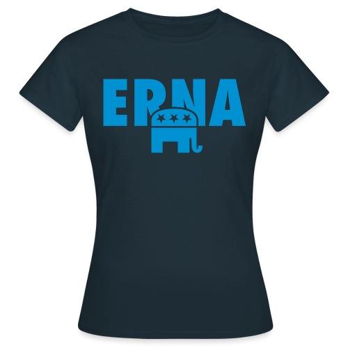 Velg Erna - T-skjorte for kvinner