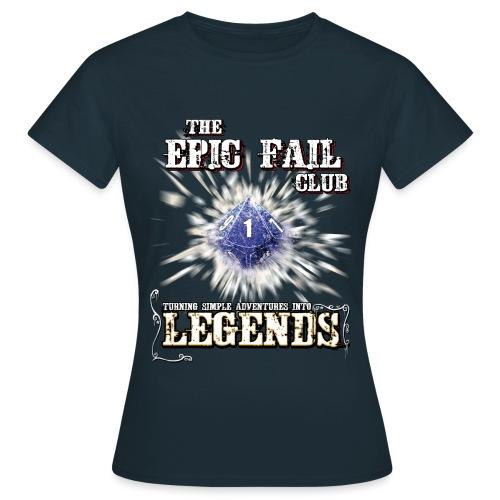 Epic Fail Club D10 - Women's T-Shirt