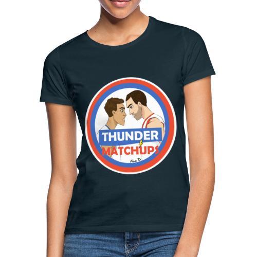 Thunder Matchups Logo - Maglietta da donna