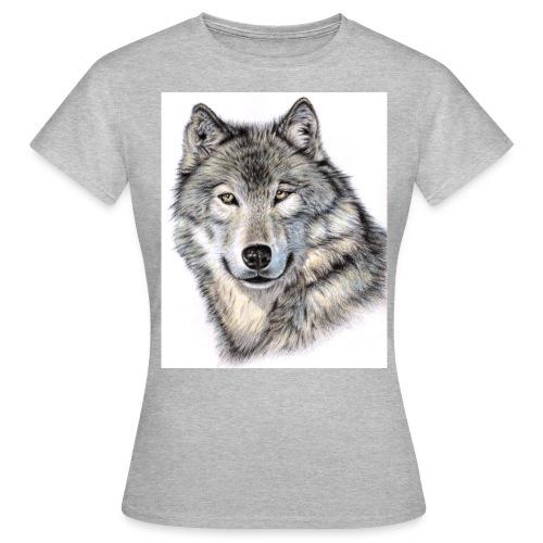 Der Wolf - Frauen T-Shirt