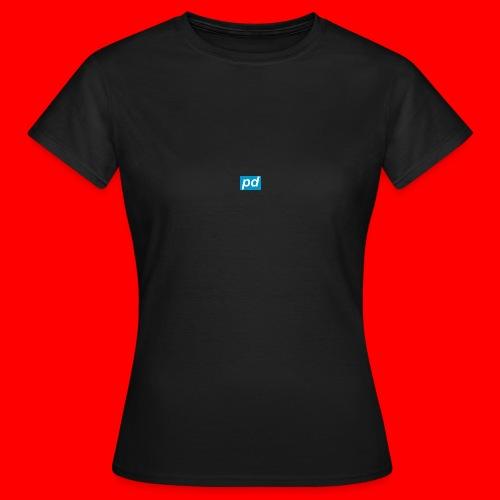 pd Blue - Dame-T-shirt