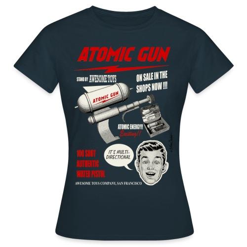 Pistola atómica - Camiseta mujer